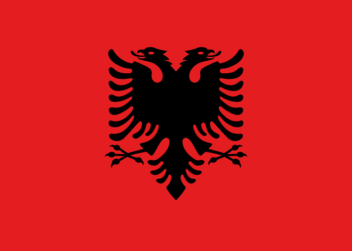 파일:알바니아 국기.png