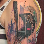 Abstract Half sleeve