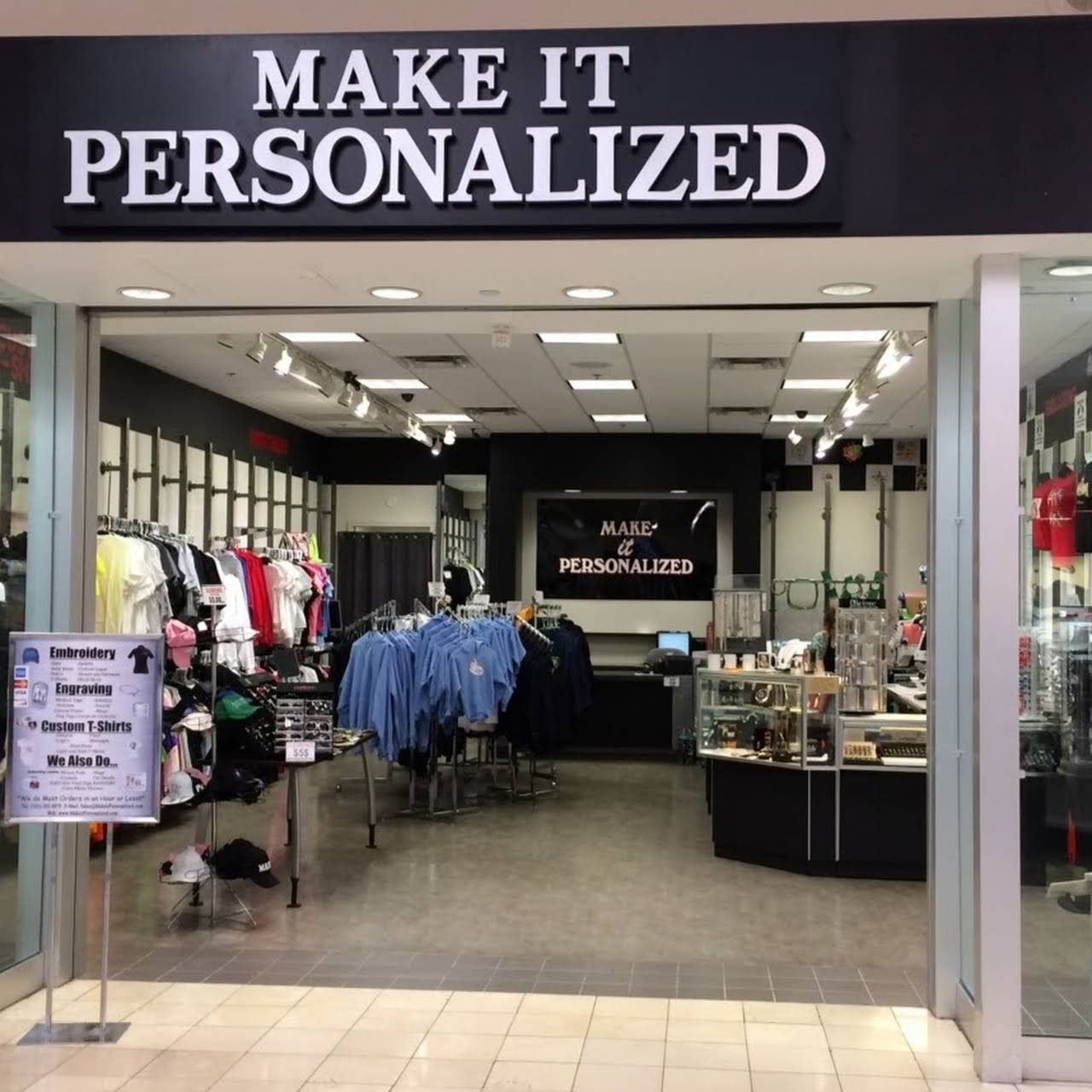 Make It Personalized Custom T Shirts Embroidery Engraving Laser