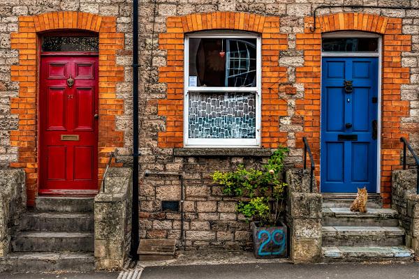 Red and Blue di Sara Jazbar
