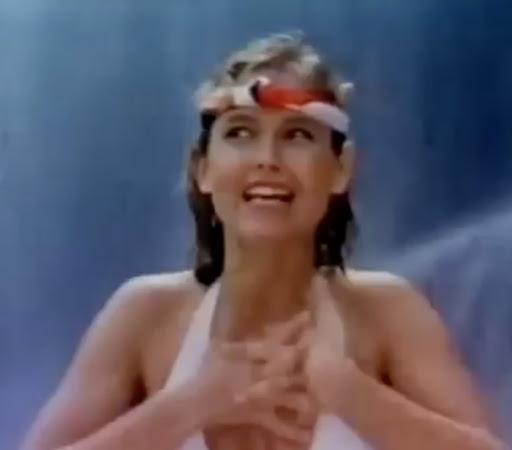Campanha do Desodorante Fantástico apresentado pela Xuxa, na metade dos anos 80