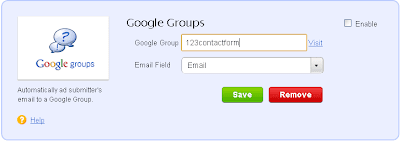 Google Groups Integration