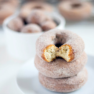 Old Fashioned Apple Cider Doughnuts