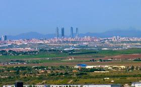 Madrid visto desde los Cerros de Alcalá de Henares