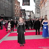WWW.ENTSIMAGES.COM -  Anastashia Hille   at      The Olivier Awards at Royal Opera House, Covent Garden, London, April 28th 2013                                               Photo Mobis Photos/OIC 0203 174 1069