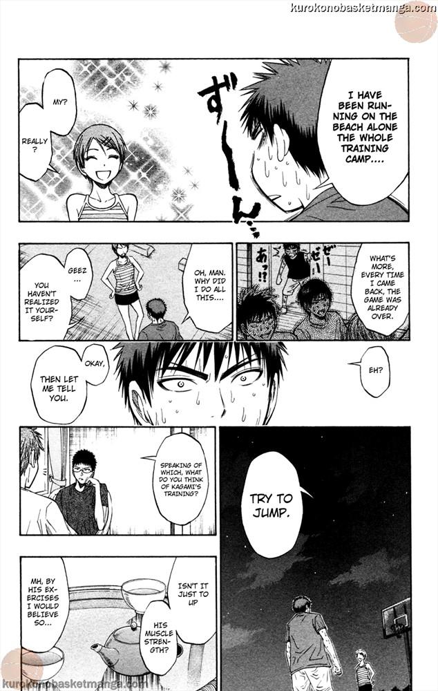 Kuroko no Basket Manga Chapter 61 - Image 8