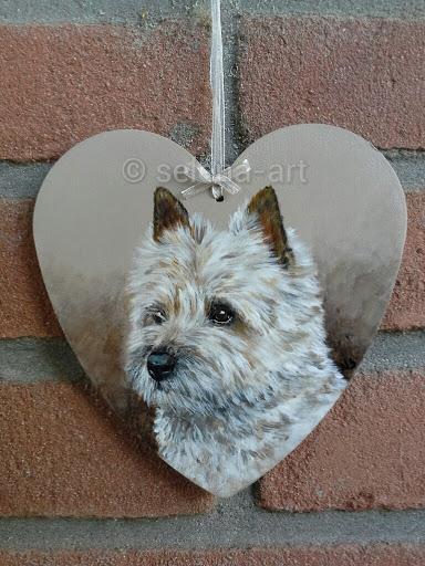 Hartje met Cairn Terrier