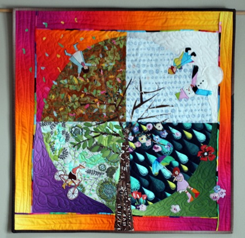 Seasons of Play Quilt