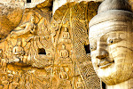 The Yungang Grottoes are a series of caves where more than 57,000 Buddhas of all shapes and sizes were carved out of stone over the centuries.