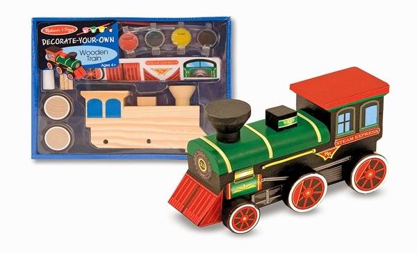 Bộ tô màu và thiết kế tàu hỏa hơi nước ME2381 với màu vẽ và nhiều sticker