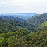Vue vers le Pacifique. Mount Totumas, 1900 m (Chiriquí, Panamá), 20 octobre 2014. Photo : J.-M. Gayman