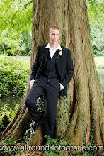 Bruidsreportage (Trouwfotograaf) - Foto van bruidegom - 010