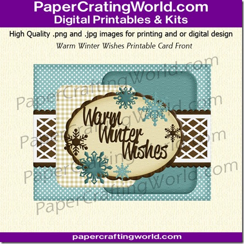 card front warm winter wishes-6502g