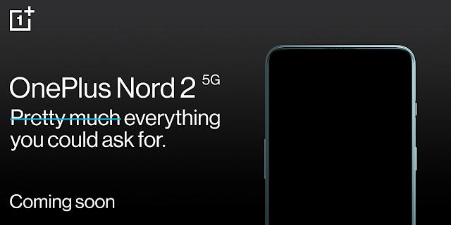 New OnePlus Nord 2 5G launching soon featuring MediaTek Dimensity 1200 Processor   TechNeg