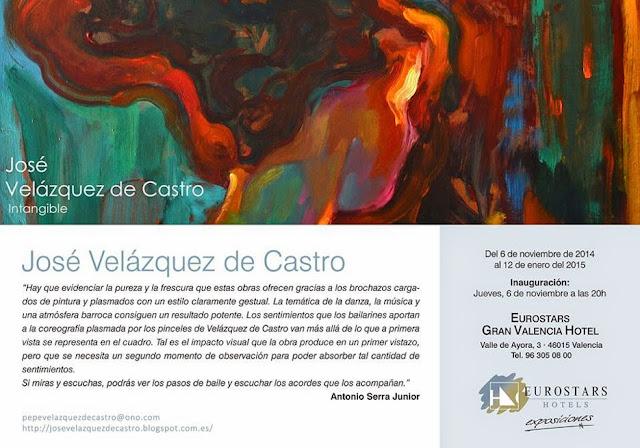Exposición de José Velázquez de Castro en el Eurostars Hotel de Valencia