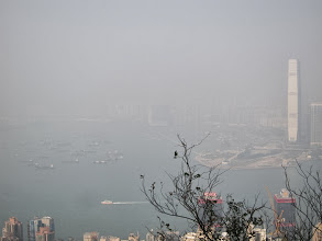 Photo: Getting hazy over the harbour