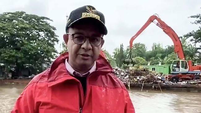 Anies: Banyak Tempat yang Enggak Pernah Banjir, Sekarang Banjir