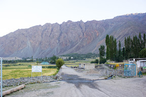 Early morning view of Golaghmuli village, Ghizer