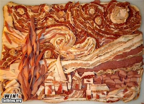 Didn't realize Van Gogh worked in bacon
