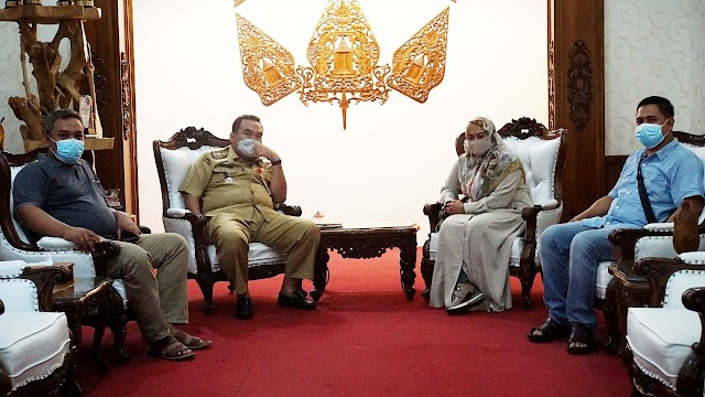 DPRK Nagan Raya Aceh Dukung Pengembangan Makam Pocut Meurah Intah Di Blora