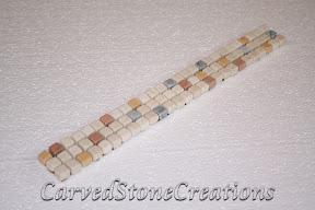 Flooring, Flooring & Mosaics, Interior, Listello, Marble, Mosaic, Natural, Stone, Tile