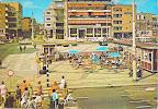 Groningen. Grote markt met Amsterdam - Rotterdam Bank. Gelopen gestempeld in 1971.