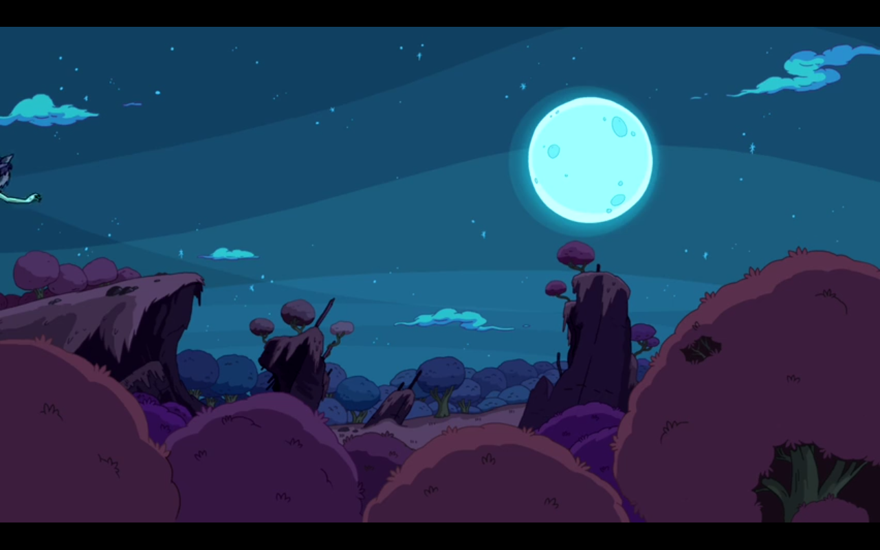 adventure time blue background - photo #25