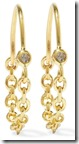 Pamela Love gold plated tozaz earrings
