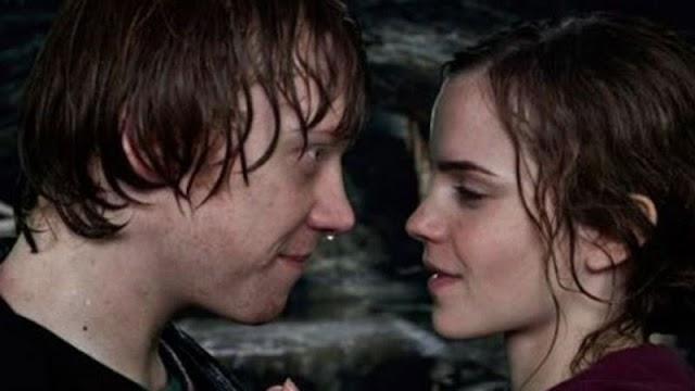 Por que Rupert Grint não queria beijar Emma Watson em Harry Potter?