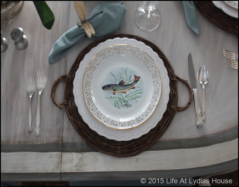 Limoges fish plate 1