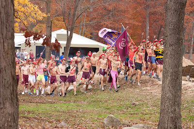 County xc Championships-Don Bosco supporters. A little scary, a little impressive.