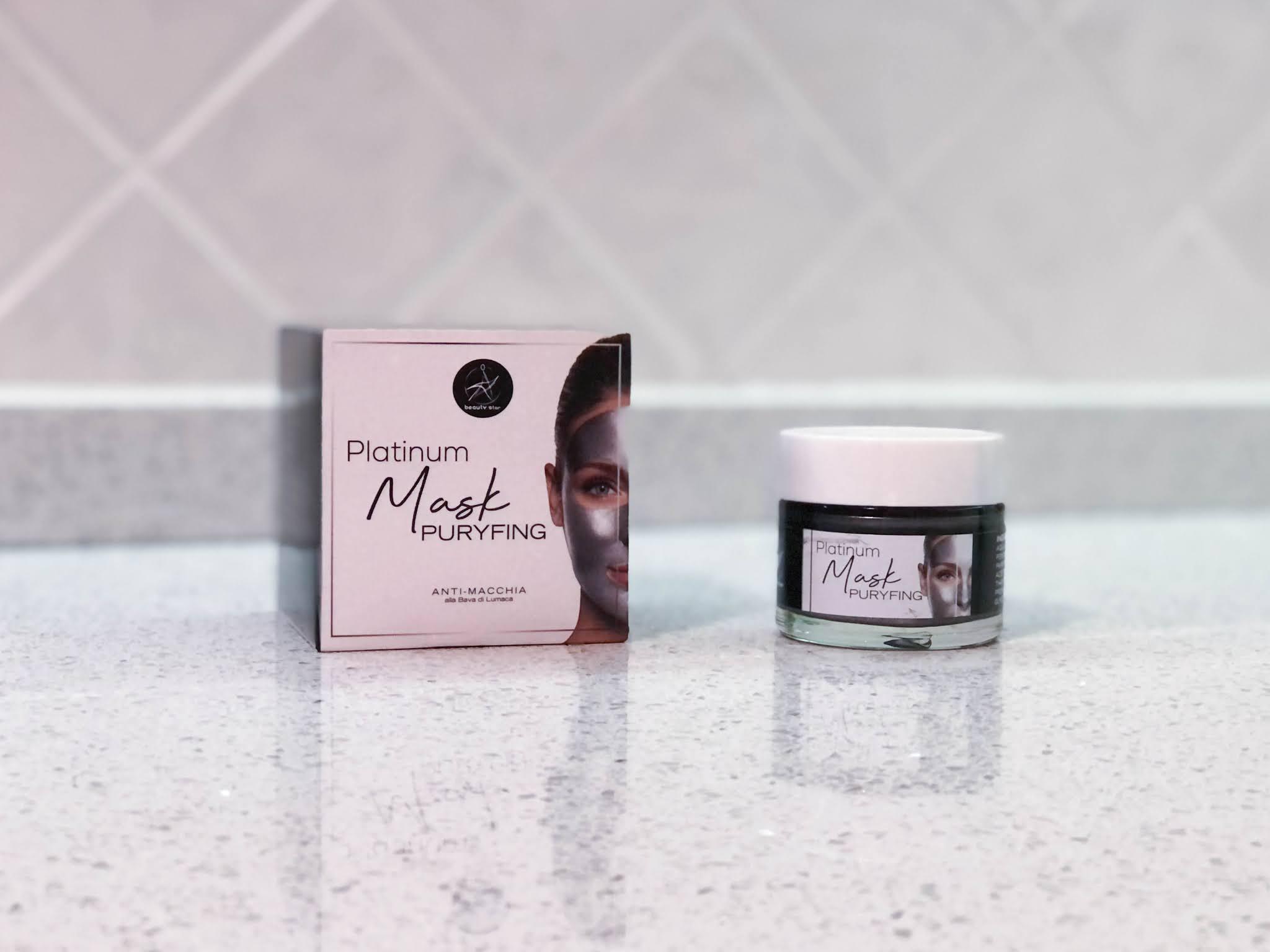 recensione Puryfing Platinum Mask di Beauty Star