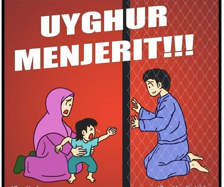 Derita Muslim Uighur, Derita Muslim Sedunia