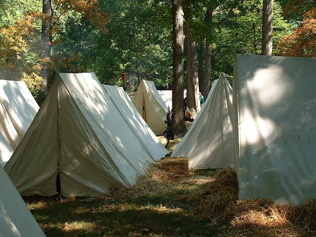 Rutherford B . Hayes Civil War Encampment - 2002_1005_130255AA.JPG