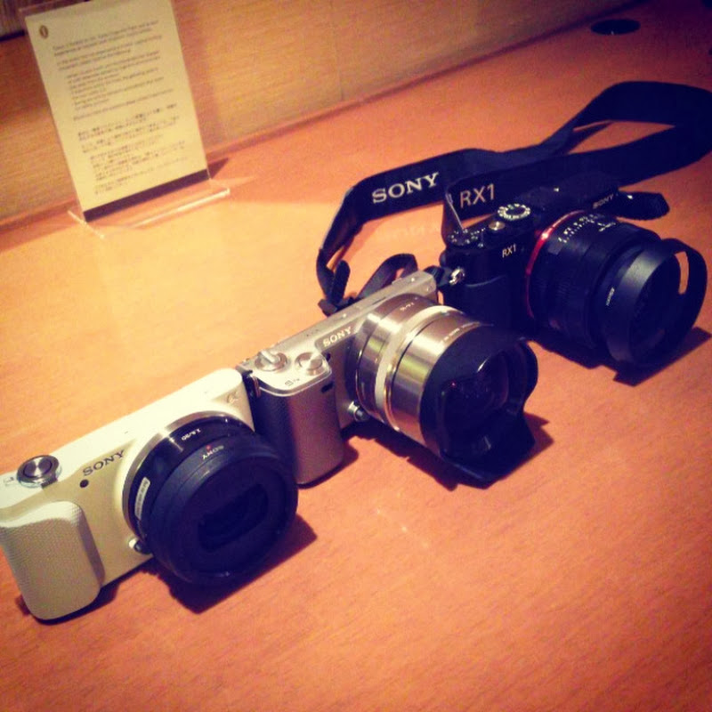 NEX-3N for Japan Trip: Hands-On and Thoughts ~ Cosmo Techno