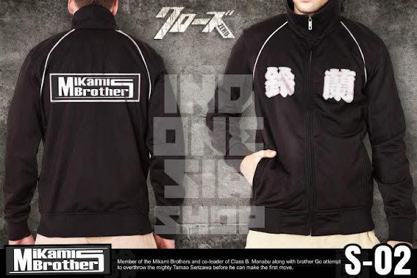 indonesia shop jaket crows zero mikami brothers s02