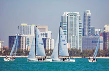 J/70 sailing Bacardi Cup Miami