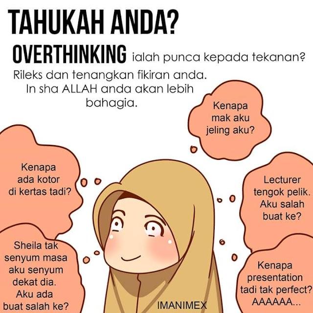 Terkena Penyakit 'Overthinking'