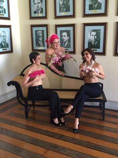 Exposição fotográfica Mulheres de Peito
