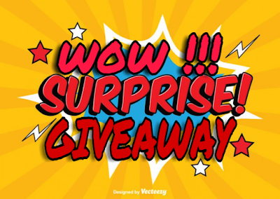 WOW !!! Surprise Giveaway Contest, Blogger Giveaway, Hadiah Misteri, Pemenang, Peserta,