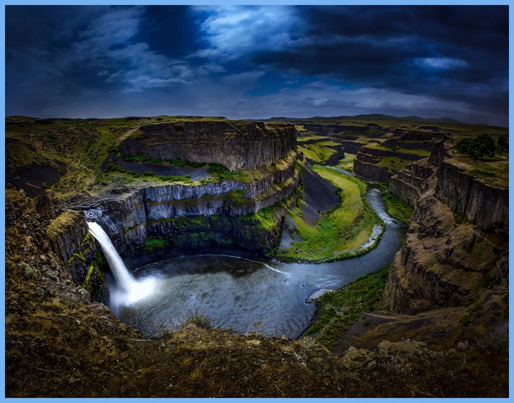 """Palouse Falls at night"" by Tim Snyder - 1st place A general"
