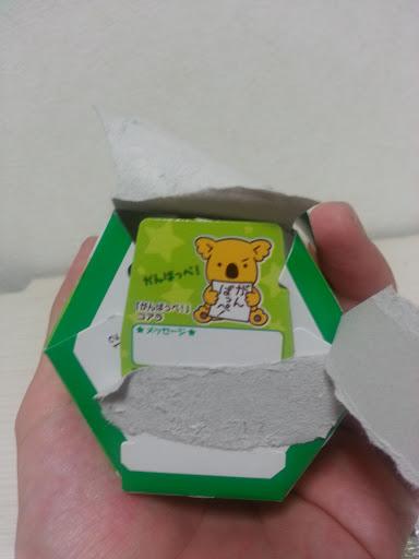 コアラのマーチの箱の底のコアラの正体がんばっぺ!