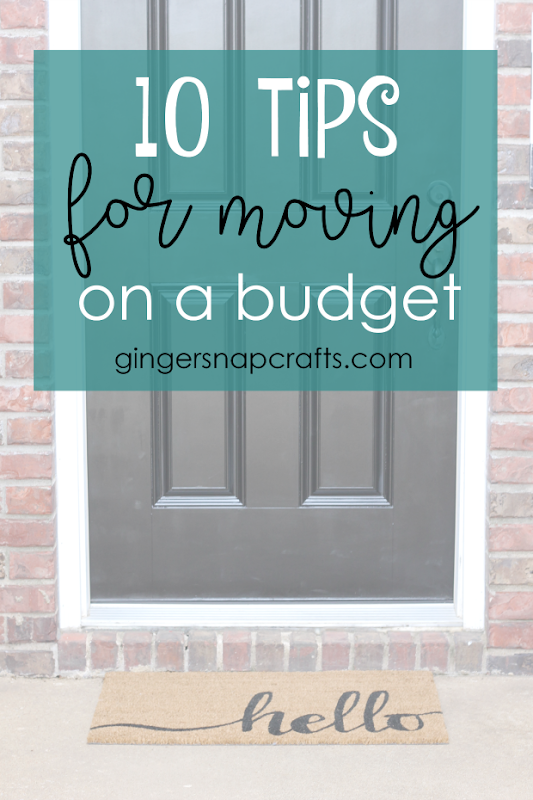 10 Tips for Moving on a Budget #moving #budget #tips