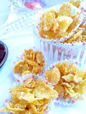 Resepi Cornflakes Madu Mudah ( Paling Senang )