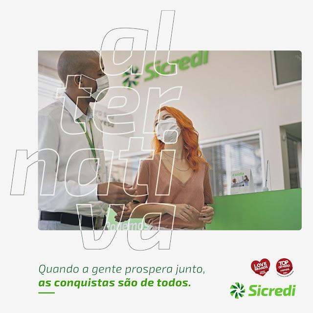 Sicredi é Top of Mind RS e está entre as marcas mais amadas do Estado
