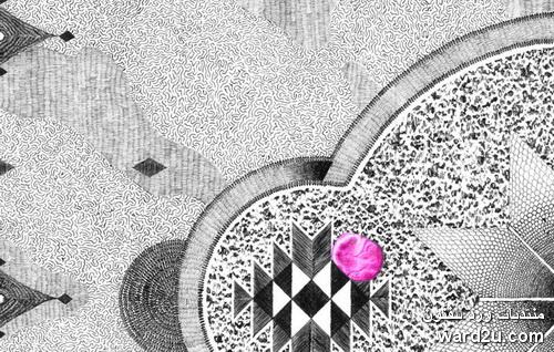 زخارف سجاد متنوعة و تصميمات رائعة للفنان Jonathan Brechignaka