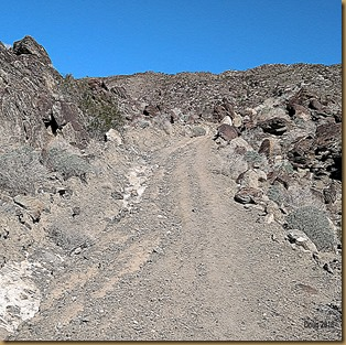 Jeep trail up Coyote Mountain