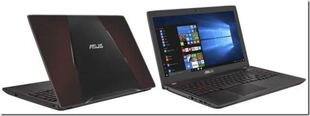 Asus FX553VD, Notebook Gaming Terbaru dengan Harga Terjangkau