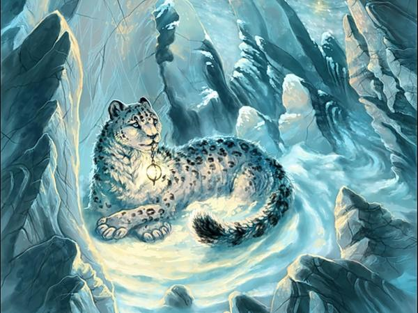 Jaguar Of Snow Light, Spirit Companion 4