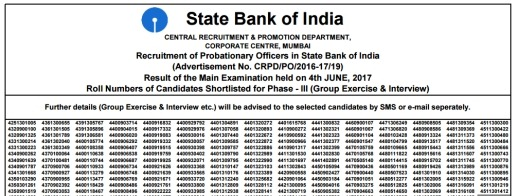 SBI-Logo,SBI PO mains 2017 results,SBI PO main exam results, SBI PO 2017 results,SBI PO main examination results
